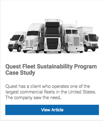 Fleet sustainability