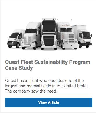 Fleet sustainability