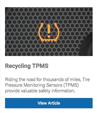 recycling tpms