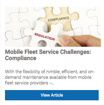 mobile fleet service compliance
