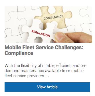 mobile fleet service compliance