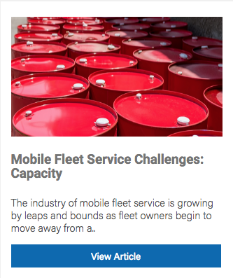 Mobile Fleet Service Capacity