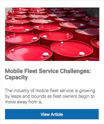 Mobile Fleet Service Capacity