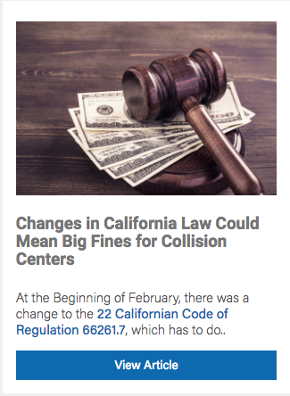 California Law Changes