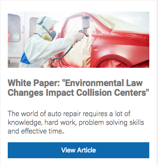 Collision Center Regulations